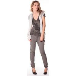textil Mujer Chaquetas de punto Rich & Royal Rich&Royal Gilet mohair ABBA Gris 13q154/114 Gris