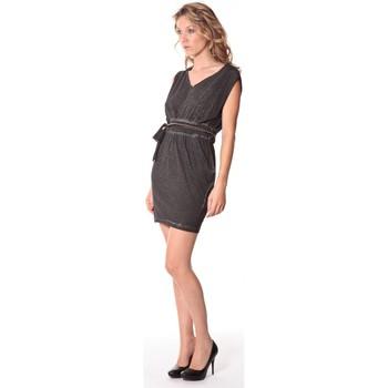 textil Mujer Vestidos cortos Rich & Royal Rich&Royal Robe LAST Noire 13q664/890 Negro
