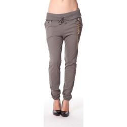 textil Mujer Pantalones de chándal Rich & Royal Rich&Royal Pantalon City sweet kaki 13q915/477 Verde