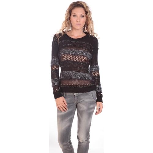 textil Mujer Jerséis Rich & Royal Rich&Royal LUREX 13Q147 Noir Negro