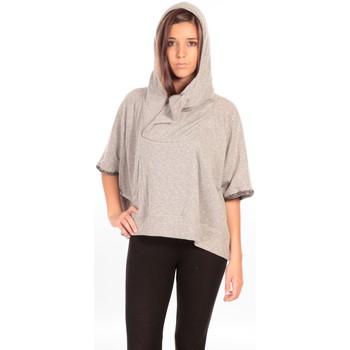 textil Mujer Chaquetas de punto Charlie Joe Pancho Eden Gris