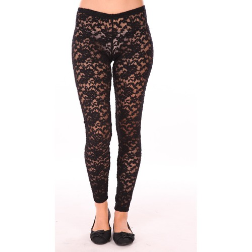textil Mujer Leggings Charlie Joe Legging Rich Negro