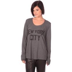 textil Mujer Camisetas manga larga Charlie Joe Top New York Gris