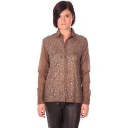 textil Mujer Camisas Charlie Joe Chemise Sonja Kaki Marrón