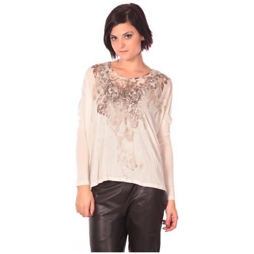 textil Mujer Túnicas Rich & Royal Rich&Royal Tunique Magela Beige Beige