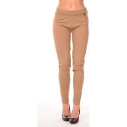 textil Mujer Leggings Rich & Royal Rich&Royal Pantalon Leni Beige