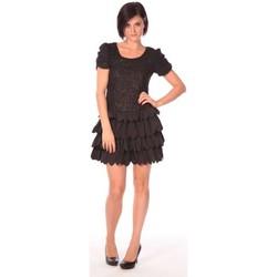 textil Mujer Vestidos cortos Aggabarti Robe Dora 112009 Negro