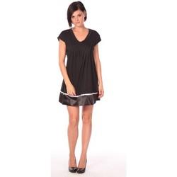 textil Mujer Vestidos cortos Aggabarti Robe Nancy 112011 Negro