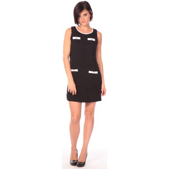 textil Mujer Vestidos cortos Aggabarti Robe Lola 112014 Negro