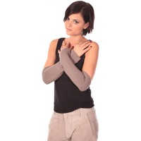 Accesorios textil Mujer Guantes Charlie Joe Mitaine Zaven Taupe Marrón