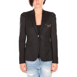 textil Mujer Chaquetas / Americana Rich & Royal Rich&Royal Blazer Cabri Negro