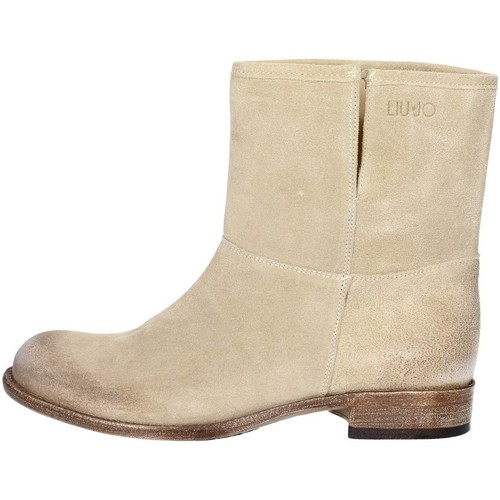 Zapatos Mujer Botas de caña baja Liu Jo S14059 TEA Beige