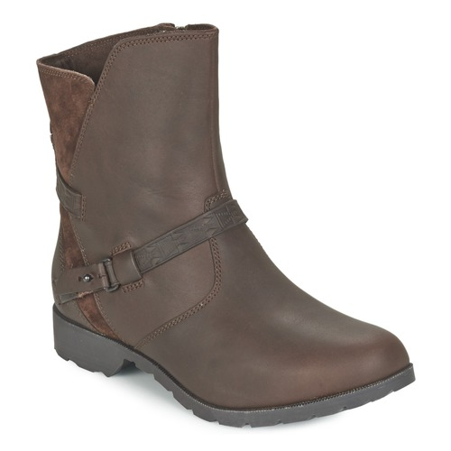 Zapatos Mujer Botas de caña baja Teva DELAVINA LOW Marrón