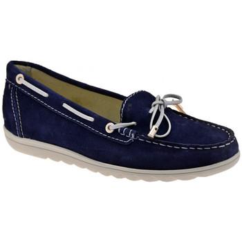 Zapatos Mujer Mocasín Keys  Azul