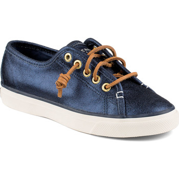 Zapatos Mujer Zapatillas bajas Sperry Top-Sider Zapatilhas Seacoast Seacoast Metallic Azul