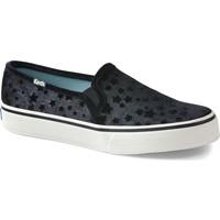 Zapatos Mujer Slip on Keds Decker Velvet Star Negro