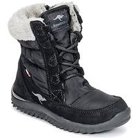 Zapatos Niña Botas de nieve Kangaroos CUPY JUNIOR Negro