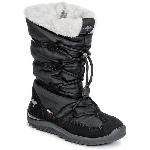 Zapatos promocionales Kangaroos PUFFY III JUNIOR Negro  Gran descuento