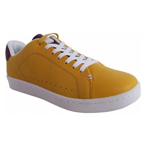 Zapatos Hombre Zapatillas bajas Lacoste 27TFM3404 CARNABY NEW CUP Amarillo