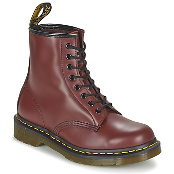 Zapatos Botas de caña baja Dr Martens 1460 Rojo