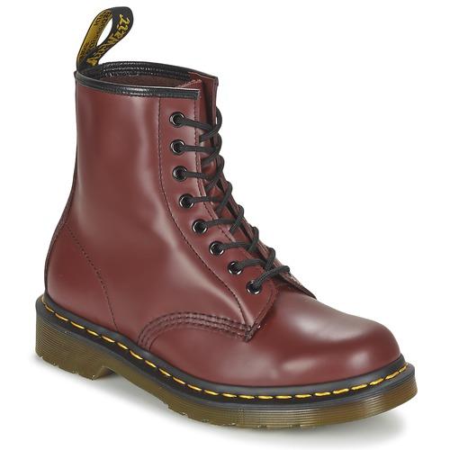 Los últimos zapatos de descuento para hombres y mujeres Zapatos especiales Dr Martens 1460 Rojo
