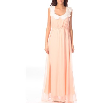 textil Mujer Vestidos largos Aggabarti Robe Claudine 121013 Naranja