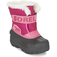 Zapatos Niños Botas de nieve Sorel CHILDRENS SNOW COMMANDER Rosa