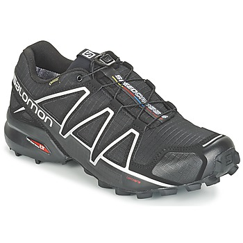 Zapatos Hombre Running / trail Salomon SPEEDCROSS 4 GTX® Negro / Plateado