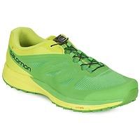 Zapatos Hombre Running / trail Salomon SENSE PRO 2 Verde / Negro