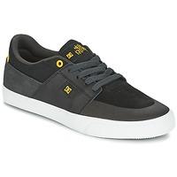 Zapatos Hombre Zapatillas bajas DC Shoes WES KREMER Negro / Gris / Amarillo