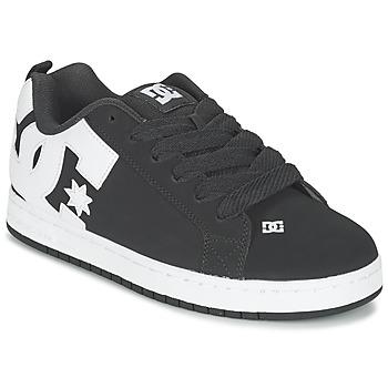 Zapatos Hombre Zapatos de skate DC Shoes COURT GRAFFIK Negro