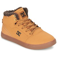 Zapatos Niños Zapatillas altas DC Shoes CRISIS HIGH WNT B SHOE WD4 Trigo / Chocolate