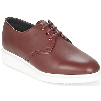 Zapatos Derbie Dr Martens TORRIANO Rojo / Cereza