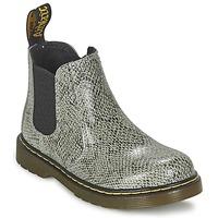 Zapatos Niños Botas de caña baja Dr Martens BANZAI ASP Gris / Claro