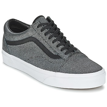 Zapatos Mujer Zapatillas bajas Vans OLD SKOOL Negro / Lavado