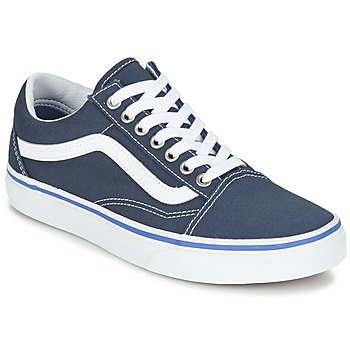 Zapatos Zapatillas bajas Vans OLD SKOOL Marino / Blanco