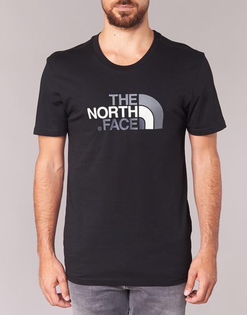 Face s Hombre Textil Negro North Easy Tee Camisetas Corta Manga The S qUzMVSp