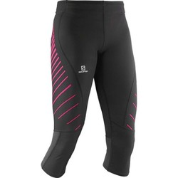 textil Mujer Pantalones Salomon Endurance 3/4 Tight W Negro