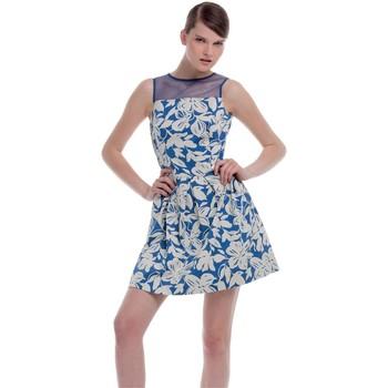 textil Mujer vestidos cortos Kocca Vestido Orsang Azul