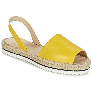 Zapatos Mujer Sandalias Anaki TEQUILAI Amarillo
