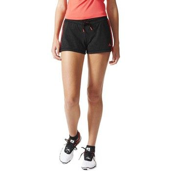textil Mujer Shorts / Bermudas adidas Performance Essential 3S Short Gris
