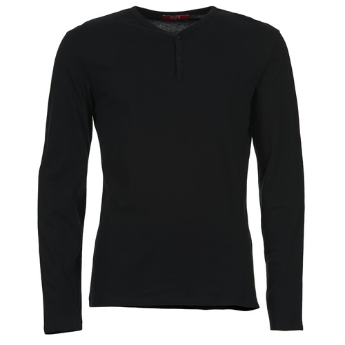 BOTD ETUNAMA Negro - Envío gratis | ! - textil Camisetas manga larga Hombre