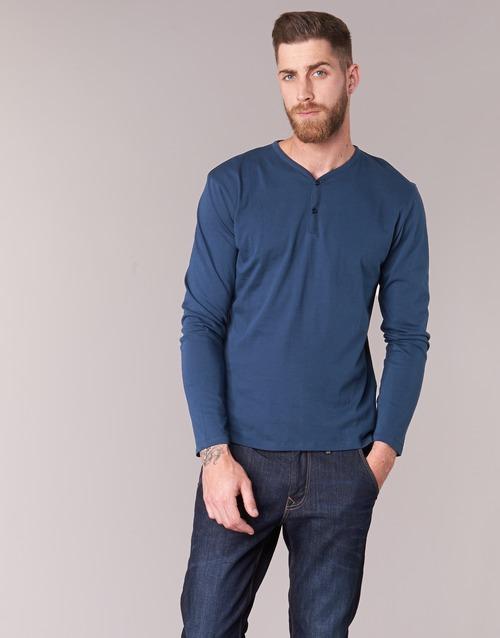 textil Hombre Camisetas manga larga BOTD ETUNAMA Marino