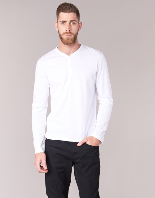 textil Hombre Camisetas manga larga BOTD ETUNAMA Blanco