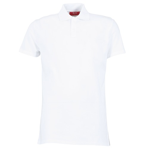 BOTD EPOLARO Blanco - Envío gratis   ! - textil polos manga corta Hombre