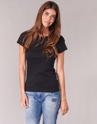 textil Mujer camisetas manga corta BOTD EQUATILA Negro