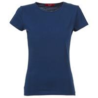 textil Mujer camisetas manga corta BOTD EQUATILA Marino
