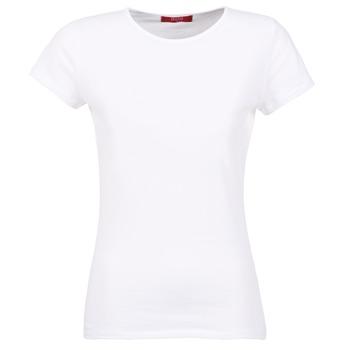 textil Mujer Camisetas manga corta BOTD EQUATILA Blanco