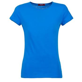 textil Mujer camisetas manga corta BOTD EQUATILA Azul