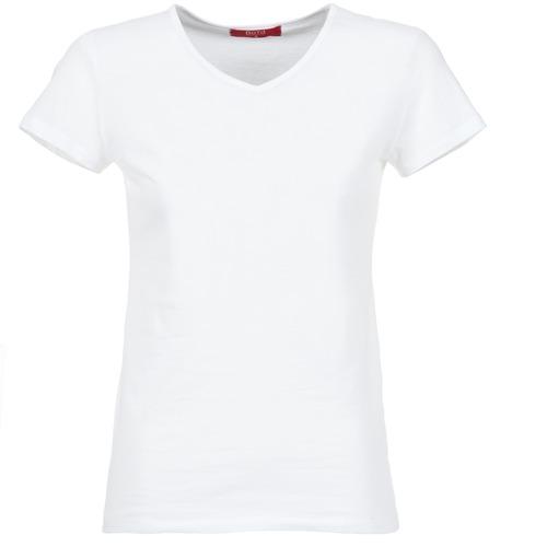 textil Mujer Camisetas manga corta BOTD EFLOMU Blanco